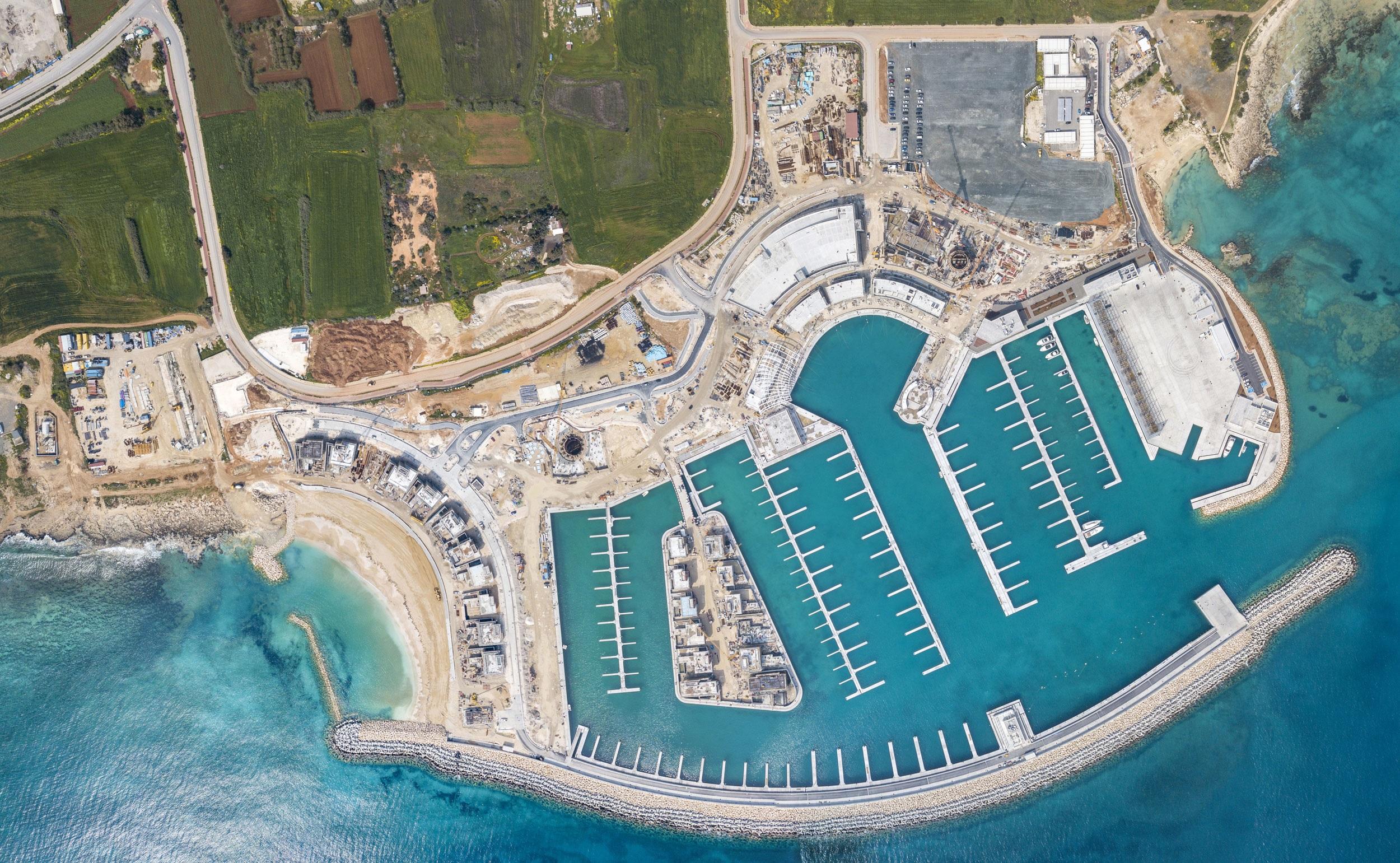 ΤΕΡΝΑ Α.Ε.: Παραδόθηκε η πρώτη φάση της ανάπτυξης της Μαρίνας Αγίας Νάπας στην Κύπρο